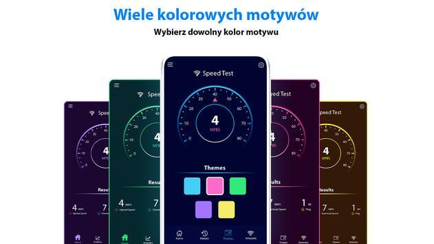 test prędkości Metr -WIFI Pokrycie I Prędkość test screenshot 11