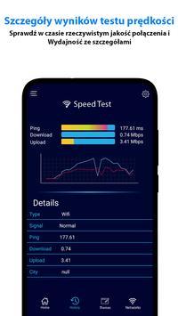 test prędkości Metr -WIFI Pokrycie I Prędkość test screenshot 2