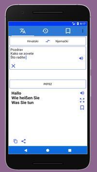 German to Croatian Spoken Translator screenshot 3
