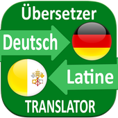 Latin German Translator icon