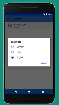 Latin German Translator screenshot 6