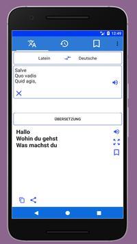 Latin German Translator screenshot 3