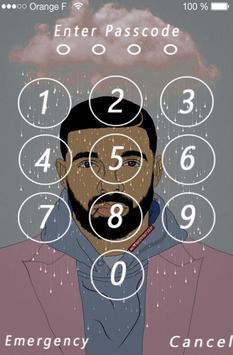 Lock Screen Drake Wallpaper 4k screenshot 1