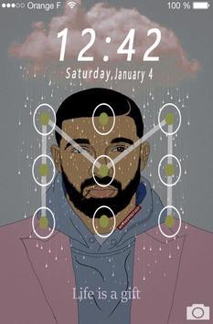 Lock Screen Drake Wallpaper 4k screenshot 3