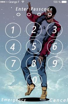 Lock Screen Drake Wallpaper 4k screenshot 9