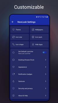 NewLook Launcher screenshot 6