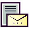 Lettre et Demande : French letters ícone