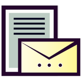 Lettre et Demande : French letters ikona