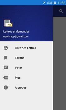 Lettre et Demande : French letters screenshot 3