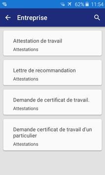 Lettre et Demande : French letters screenshot 1