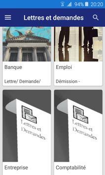 Lettre et Demande : French letters screenshot 7