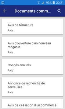 Lettre et Demande : French letters screenshot 5