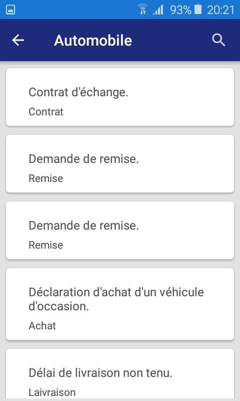Lettre Et Demande French Letters для андроид скачать Apk