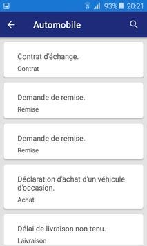 Lettre et Demande : French letters screenshot 6