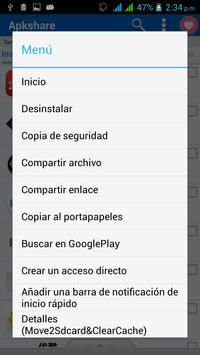 Apkshare captura de pantalla 3