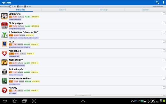 ApkShare screenshot 8