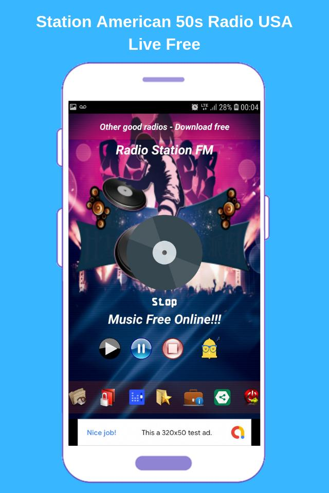 Station American 50s Radio USA Live Free for Android - APK