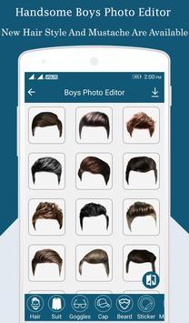 Boys Photo Editor screenshot 1
