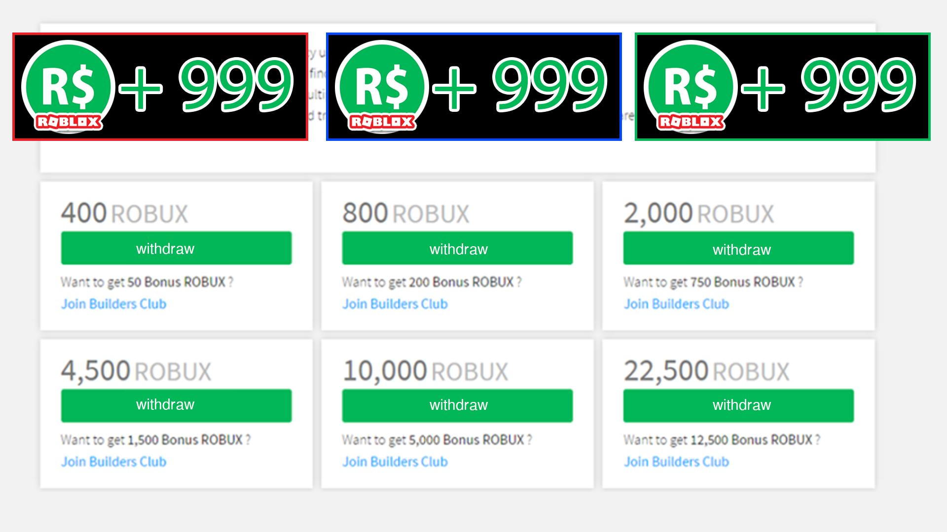 Roblox Builders Club Robux Bonus 999 Robuxs Free Tips For Android Apk Download