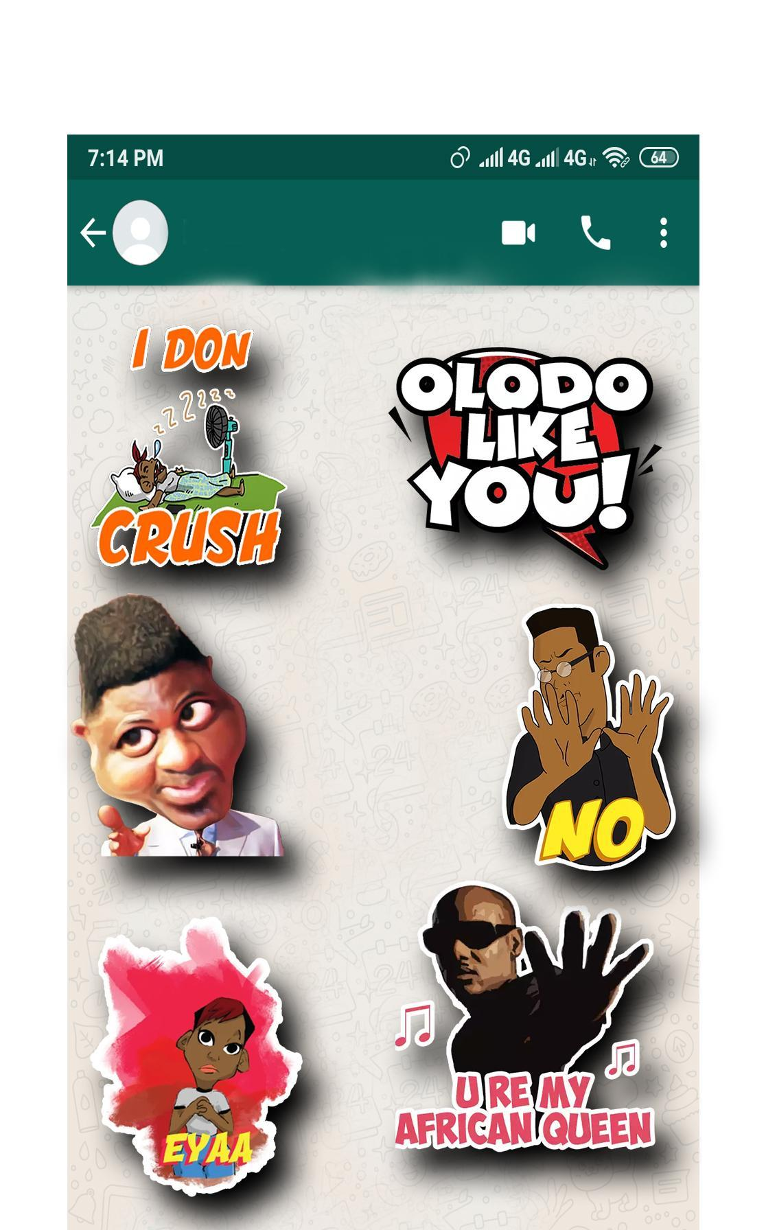 New Naija Stickers (WaStickerApps) for Android - APK Download