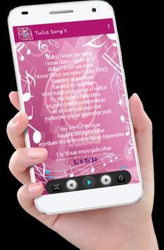 Twice Song's plus Lyrics screenshot 3