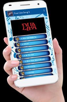 Dua Lipa Song's plus Lyrics screenshot 1