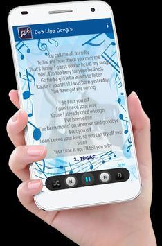 Dua Lipa Song's plus Lyrics screenshot 4