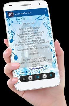 Dua Lipa Song's plus Lyrics screenshot 5
