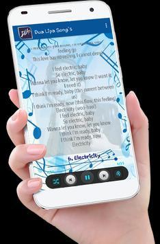Dua Lipa Song's plus Lyrics screenshot 6