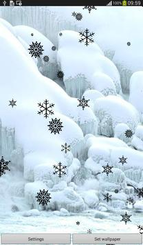 Snow Flakes Live Wallpaper screenshot 5