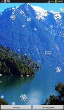 Snow Flakes Live Wallpaper screenshot 7
