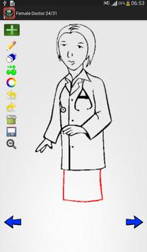 How to Draw: Doctors & Toolkit screenshot 10