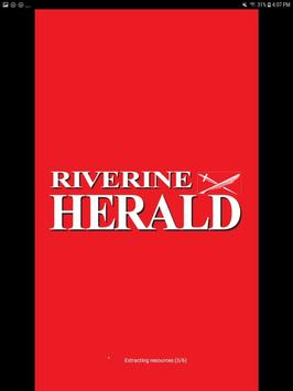Riverine Herald poster