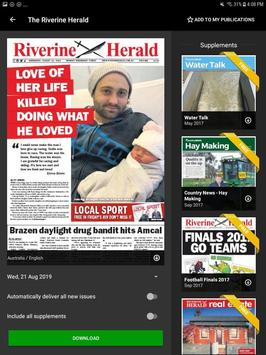 Riverine Herald screenshot 1