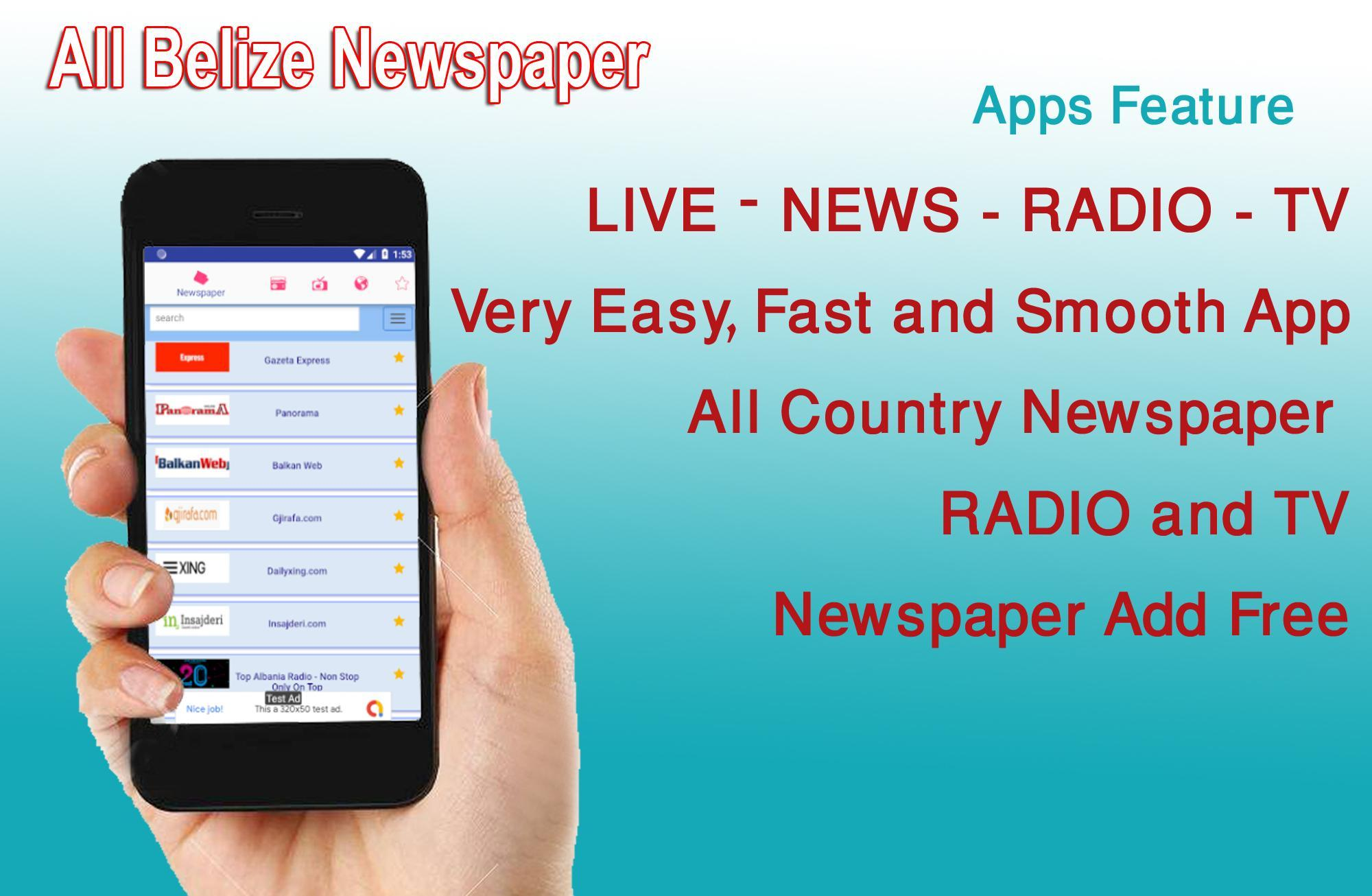 Belize News, Belize News App, Belize Radio, Belize for