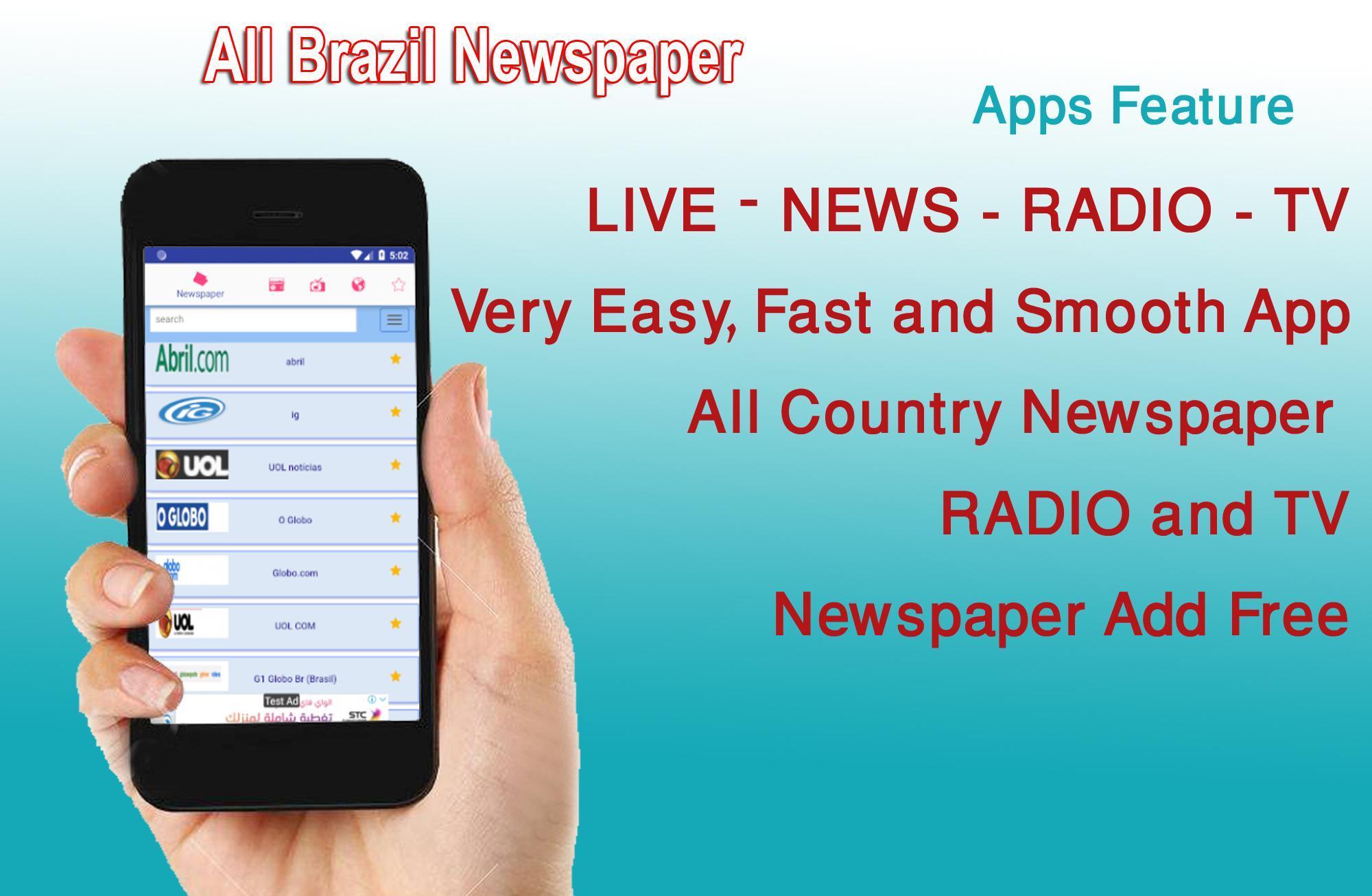 Brazil News - Brasil Notícias - Notícias do Brasil for Android - APK