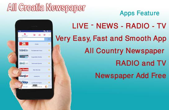 Croatia News, Croatia Radio, Croatia tv - Croatia for Android - APK
