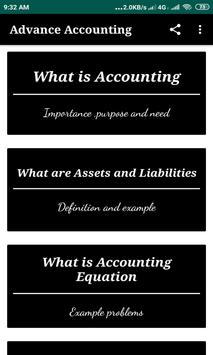 Advance Accounting :Tutorials screenshot 4