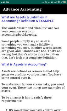 Advance Accounting :Tutorials screenshot 2