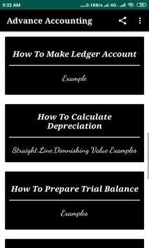 Advance Accounting :Tutorials screenshot 6