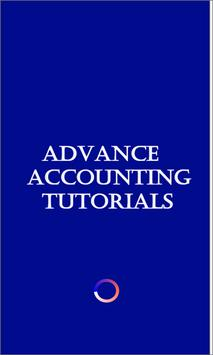 Advance Accounting :Tutorials poster