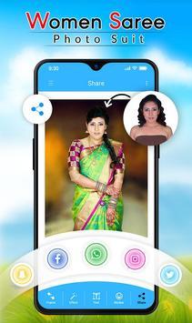 Women Saree Photo Suit screenshot 4