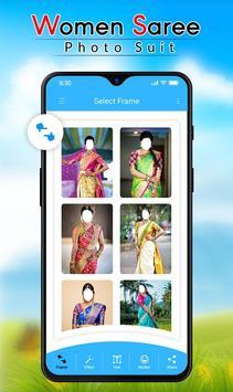 Women Saree Photo Suit poster