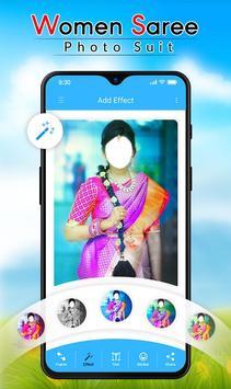 Women Saree Photo Suit screenshot 1