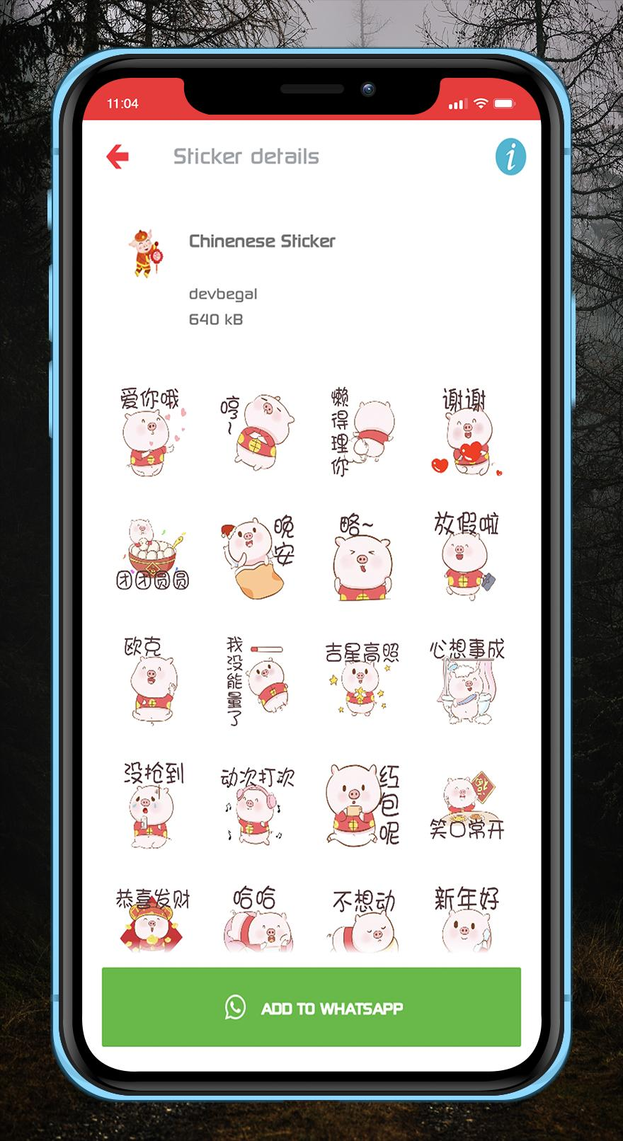 Chinese New Year Pig Imlek Sticker Whatsapp For Android Apk
