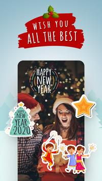 New Year Stickers – Greetings & Holiday Photo Card screenshot 6