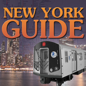 New York Guide- map of New York City Subway - MTA icon