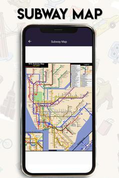 New York Guide- map of New York City Subway - MTA screenshot 1