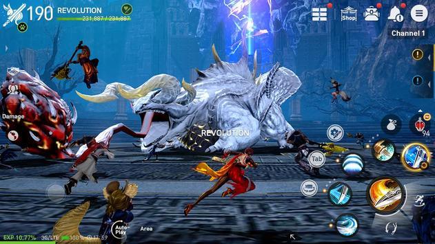 Blade&Soul Revolution screenshot 5