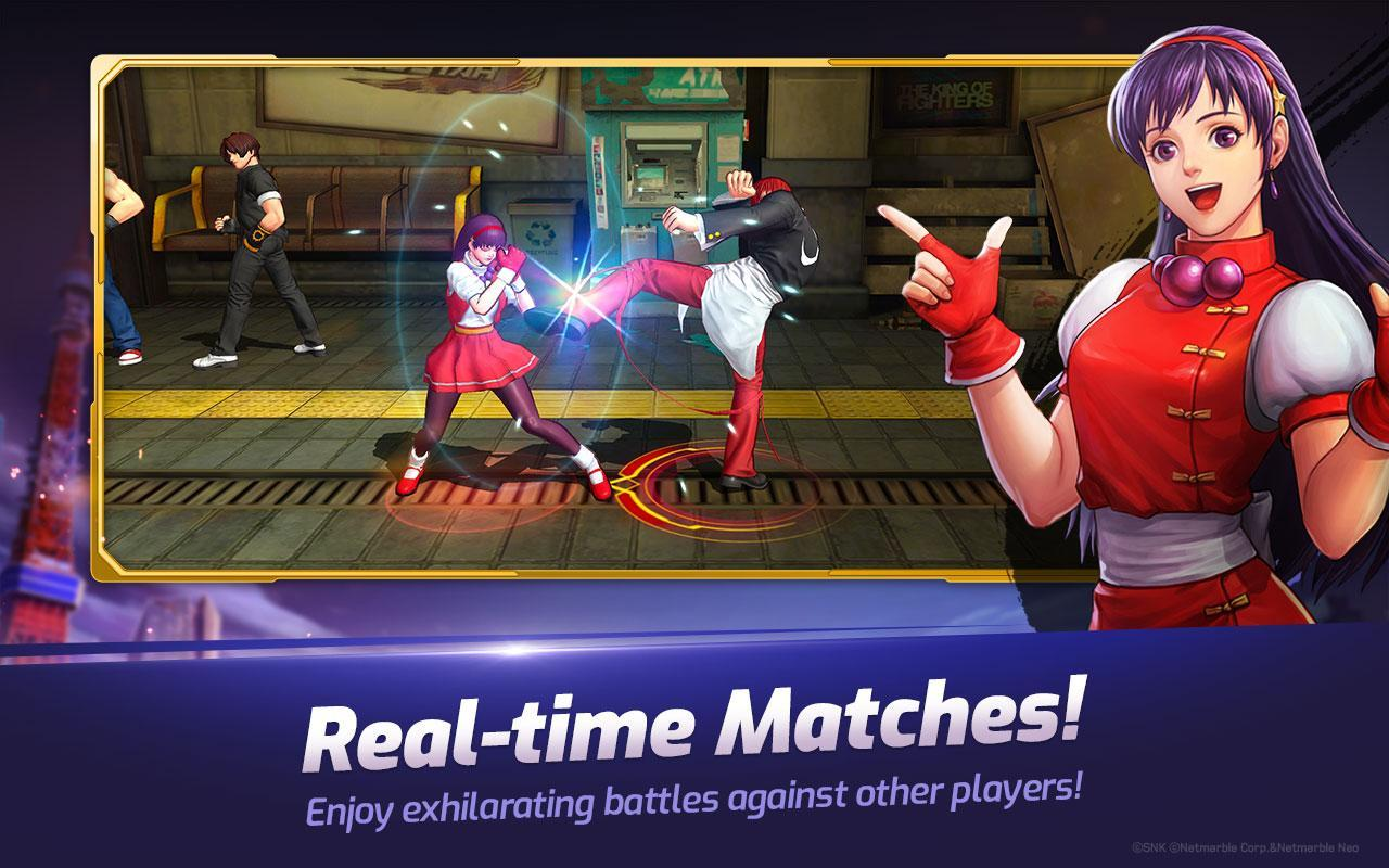 The King Of Fighters Allstar For Android Apk Download